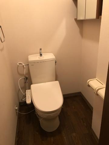 ラフォーレ今里 102号室のトイレ
