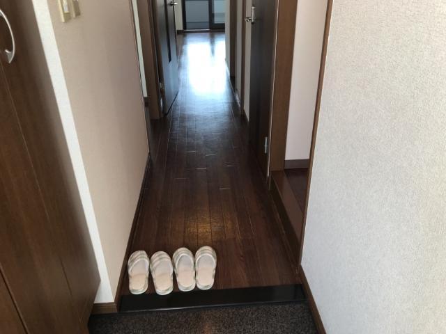ウエストヴィラージュ(West Village) 205号室の玄関