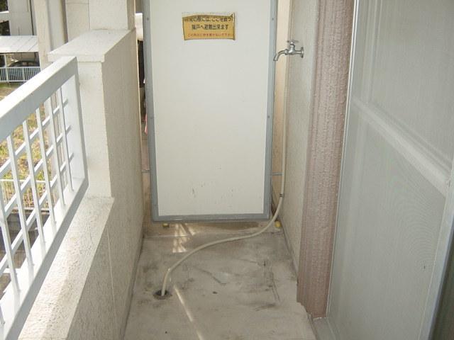 リバティ渋谷 00307号室のバルコニー