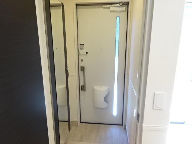 (仮称)日川スターテラスⅡA 103号室の玄関