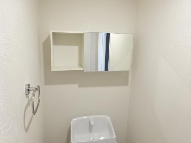 (仮称)日川スターテラスⅡA 202号室のトイレ