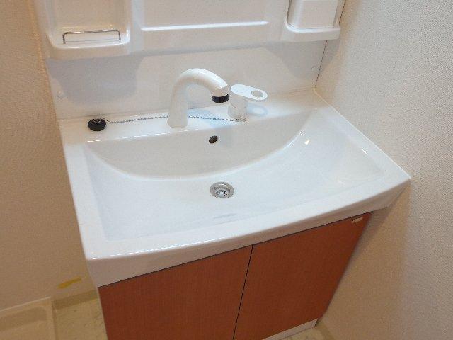 (仮称)日川スターテラスⅡA 202号室の洗面所