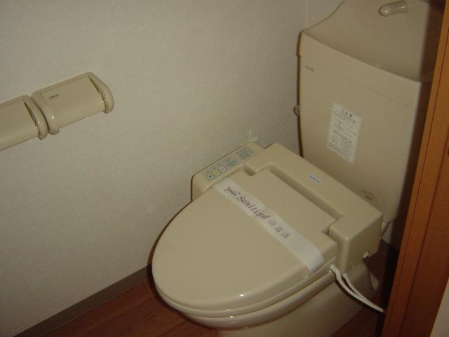 グランベル 202号室のトイレ