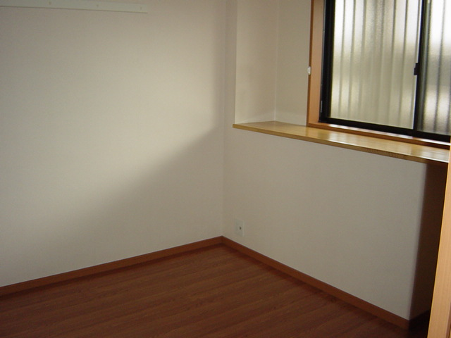 グランベル 202号室のベッドルーム