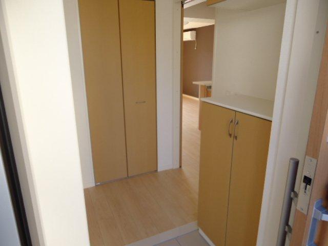 (仮)裾野市佐野アパート新築工事 202号室の玄関