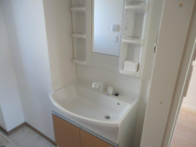 (仮)裾野市佐野アパート新築工事 202号室の洗面所