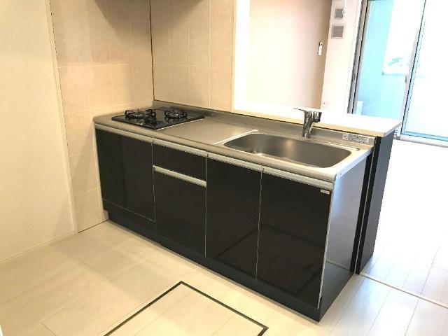 (仮)裾野市佐野アパート新築工事 202号室のキッチン