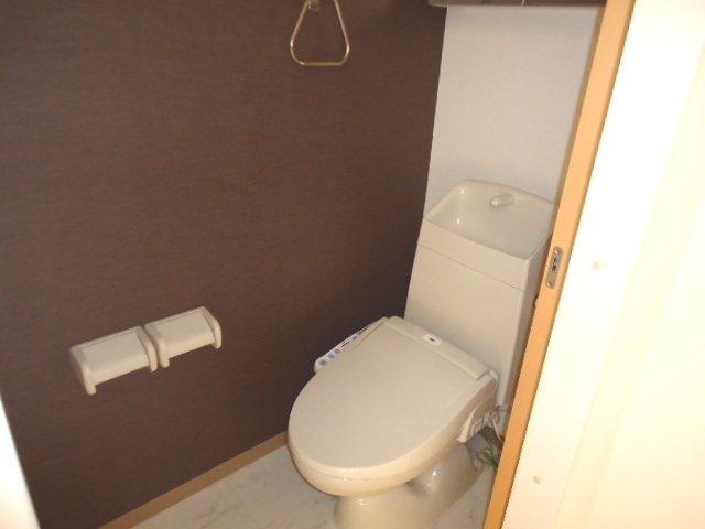 (仮)裾野市佐野アパート新築工事 202号室のトイレ