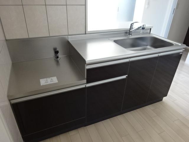 (仮称)日川スターテラスⅡ B 203号室のキッチン
