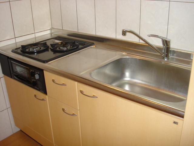 ルナフォレスタ 101号室のキッチン
