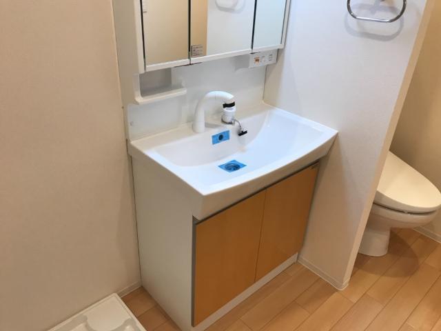 アリエッタ U 101号室の洗面所