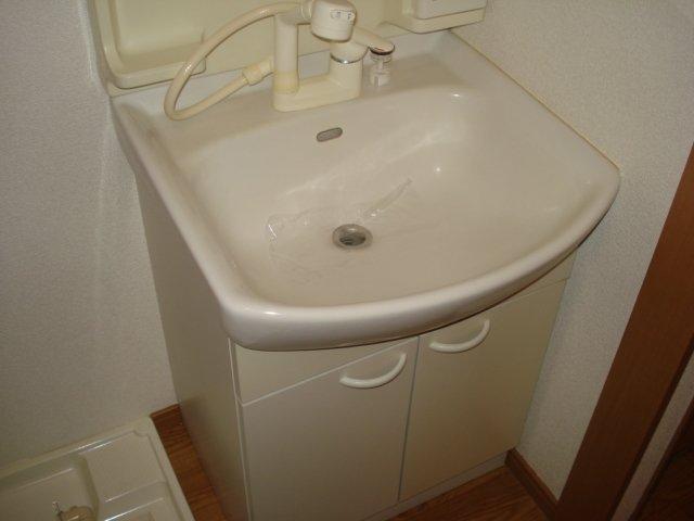 樹里庵 102号室の洗面所