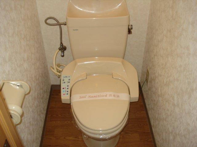 樹里庵 102号室のトイレ
