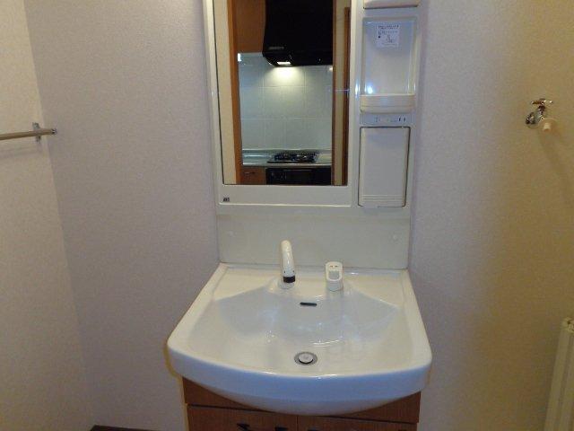 イーストパレス夢見月 207号室の洗面所