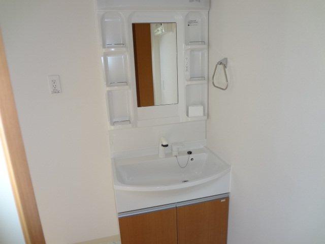 ラ サルーテ デュオ 101号室の洗面所