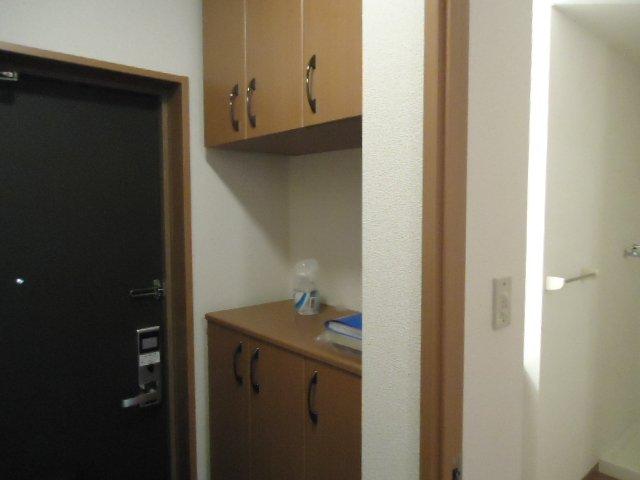 アーバンコートT.B棟 202号室の収納