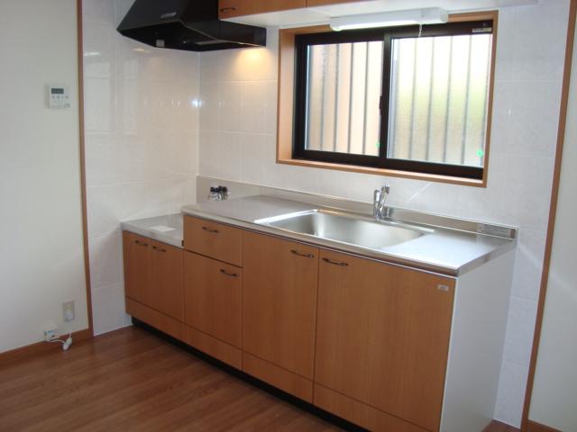ハーモニーヒルズ 101号室のキッチン