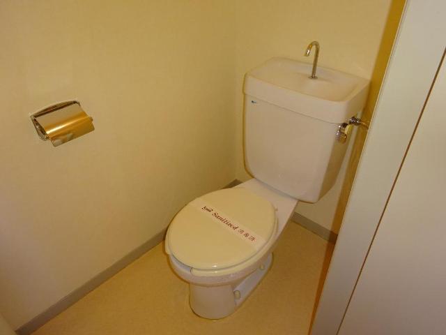 ロイヤルコープM 00301号室のトイレ