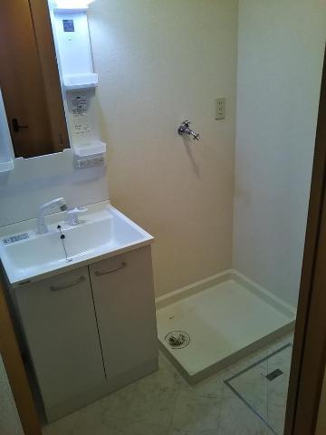 リビエール 202号室の洗面所
