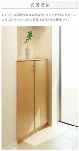フローラ小石川 301号室の玄関