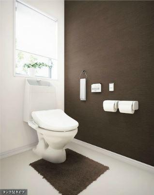 フローラ小石川 208号室のトイレ