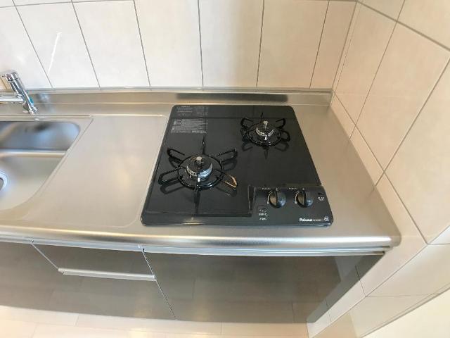 新作新築アパート 202号室のキッチン