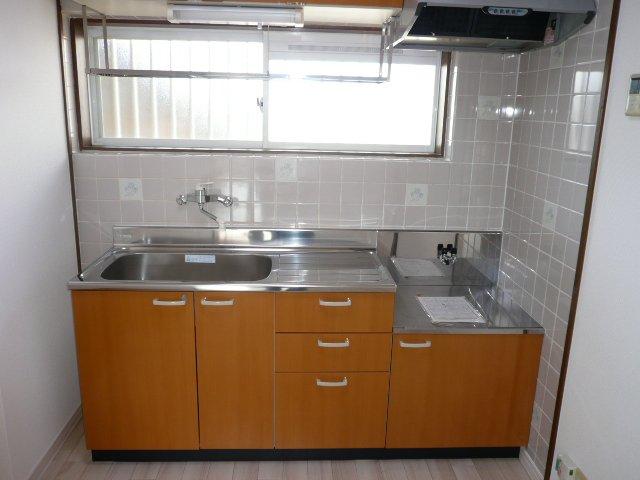プロニティ杉山Ⅱ 101号室のキッチン