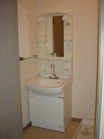 グリーンフィールド作野ヶ丘 201号室の洗面所