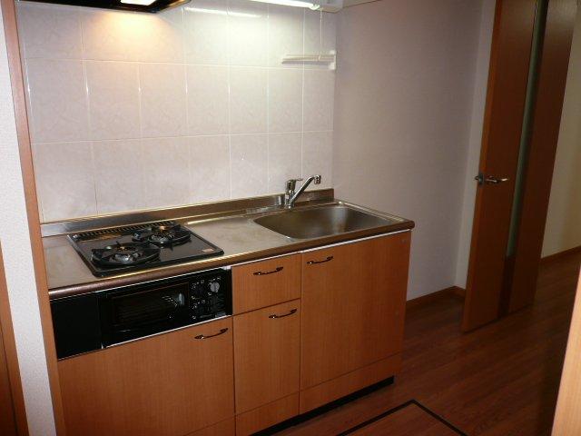 プロニティー 202号室のキッチン