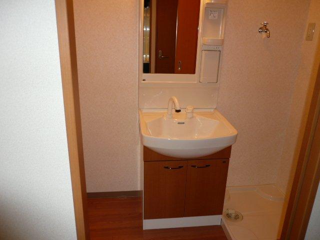 プロニティー 202号室の洗面所