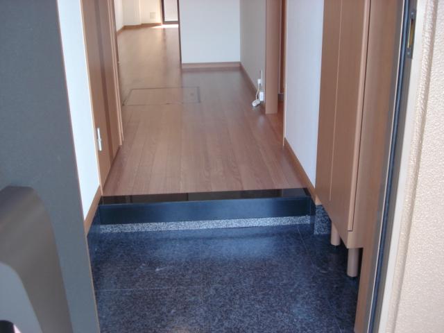 プロニティー 202号室の玄関