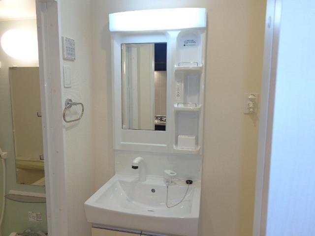 リベルタS 202号室の洗面所