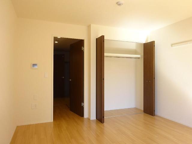 リベルタS 202号室のベッドルーム