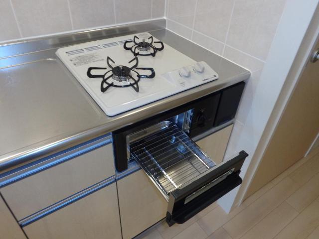 リベルタS 202号室のキッチン