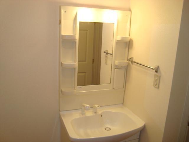 ヴィル・グラシュー・アン 101号室の洗面所