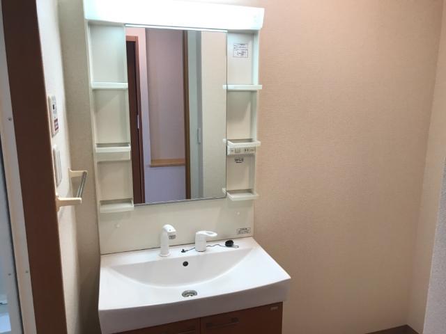 パークサイド U 102号室の洗面所