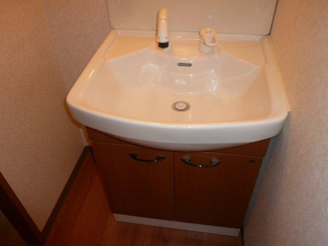 グランピュア 103号室の洗面所