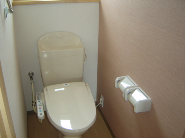 ツー・ライト志段味 201号室のトイレ