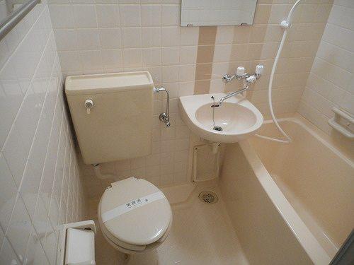 ライオンズマンション北千住第5 104号室の風呂