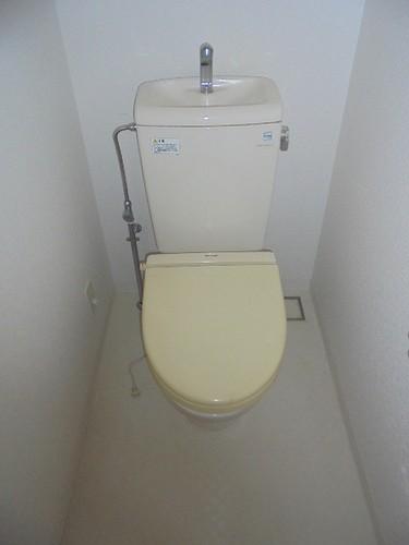ライオンズステージ竹の塚 403号室のトイレ