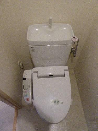 レクシオシティ王子神谷 502号室のトイレ