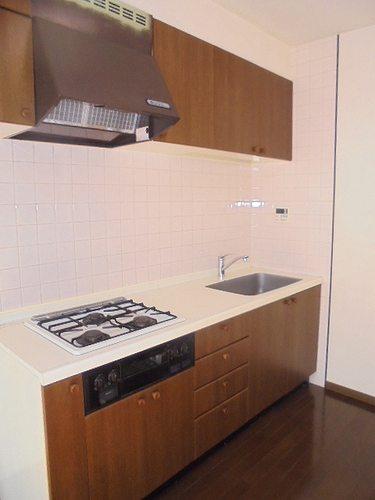 レクセル五反野 104号室のキッチン