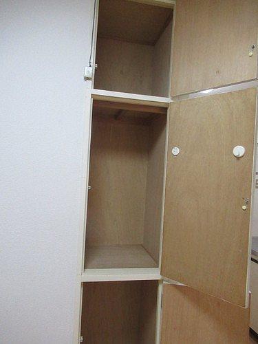 ライオンズマンション五反野 206号室の収納