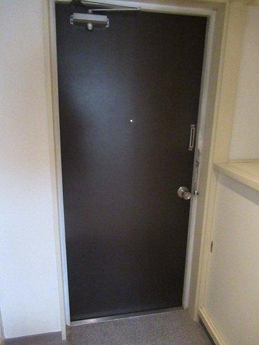 ライオンズマンション五反野 206号室の玄関