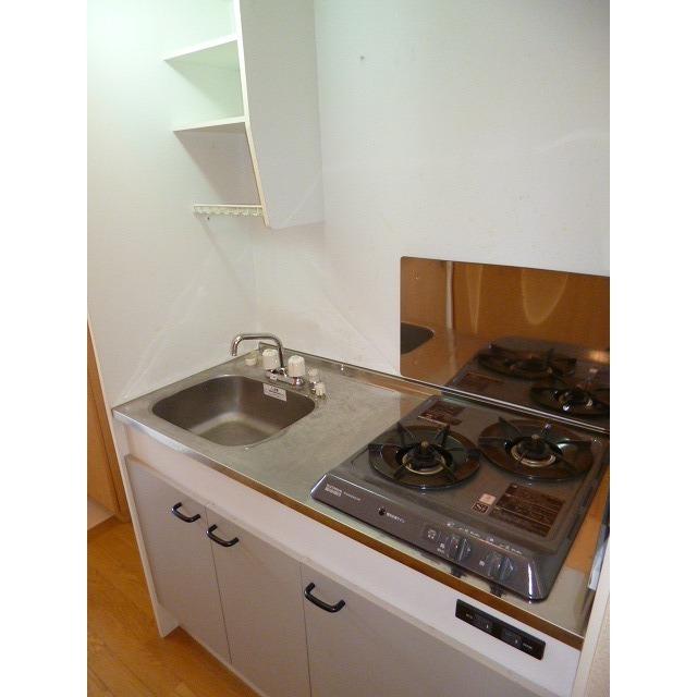 アムール 本郷台 204号室のキッチン