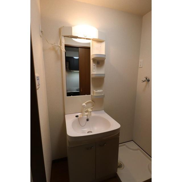 アンプルール リーブルK・Yヒルズ 201号室の洗面所