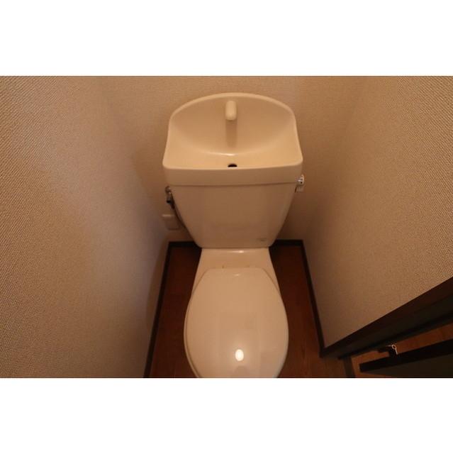 アンプルール リーブルK・Yヒルズ 201号室のトイレ