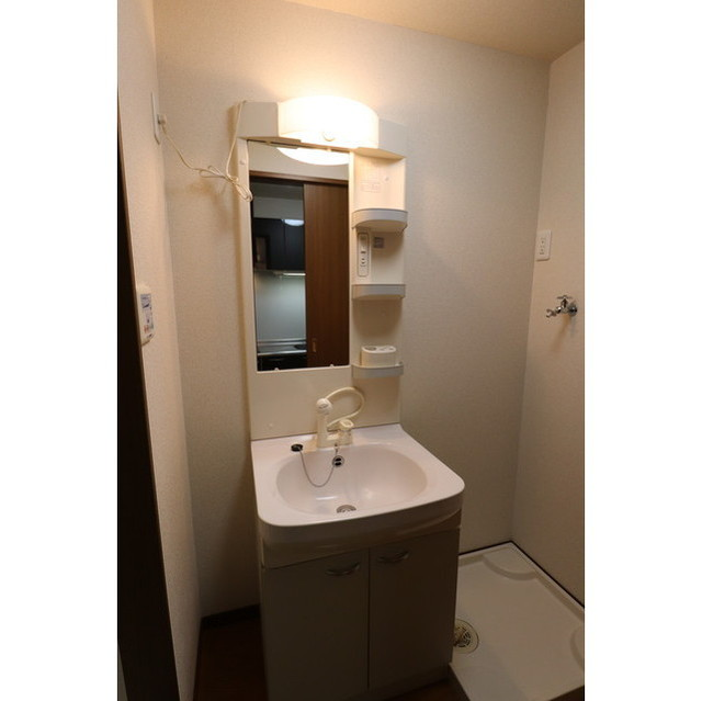 アンプルール リーブルK・Yヒルズ 202号室の洗面所