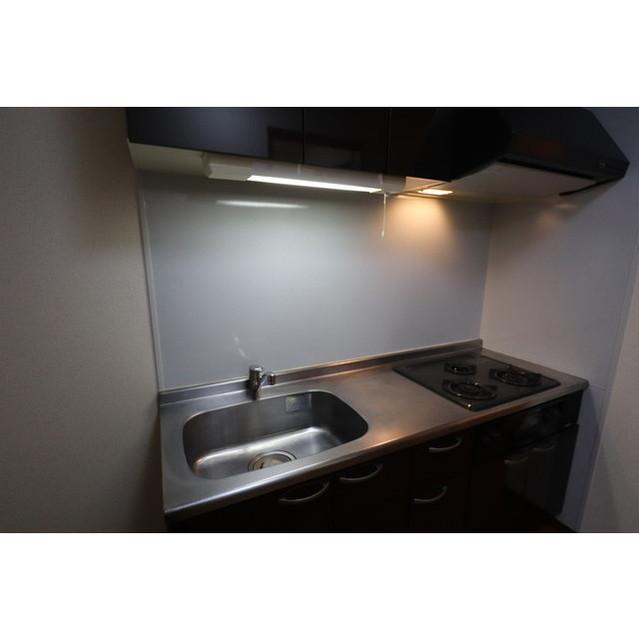 アンプルール リーブルK・Yヒルズ 202号室のキッチン