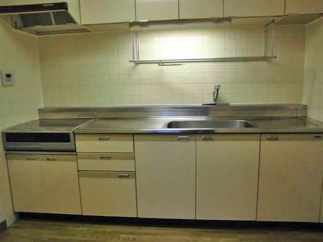 グランドール武戸野 0601号室のキッチン